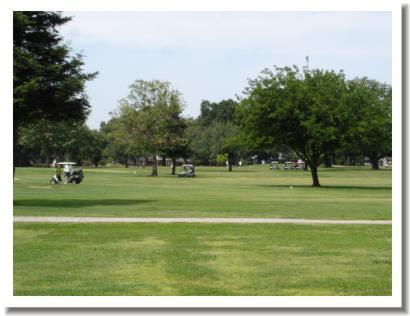 Tucker Oaks Golf Course - looking across the course